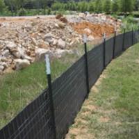 reinforced silt fence